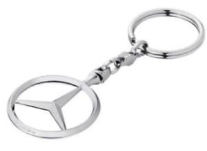 Mercedes-Benz star keychain keyring tag Metal Stainless schlüsselanhänge