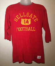 VTG Missoula Hellgate Football Jersey Shirt Womens Size Large L Half Sleeve USA