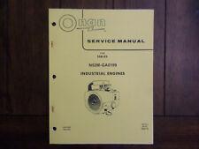 Onan Service Manual For Series N52M-GA0199 Industrial Engines