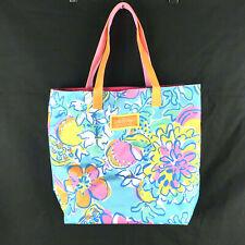 Lilly Pulitzer Estee Lauder Tote Bag Floral Fruit Multicolor
