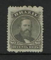 Brazil SC# 57, Mint No Gum, Hinge Remnants, see notes - S9230