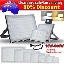 10W- 500W ULTRA-THIN LED Flood Light Outdoor Garden Floodlights Lamp 220-240V