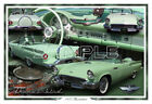1957 Ford Thunderbird Poster Print