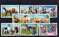 RUMANIA / ROMANIA / ROUMANIE   año 1990 yvert nr.3869/76 usada perros