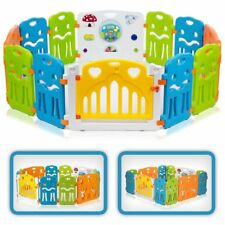 Parc en Plastique Baby Vivo XL - Multicolore
