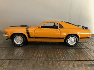 1970 Ford Mustang Boss 302 Fastback – ERTL American Muscle 1/18 Scale DieCast.