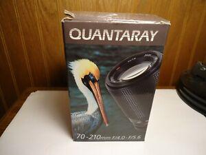 Quantaray 70-210mm f4-5.6 For Pentax A KA Mount Lens Manual focus