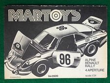 OC31 Pubblicità Advertising Clipping 19x13 (1974) ALPINE RENAULT RALLY MARTOYS