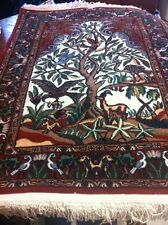 Turkish Handmade Vintage Tree Of Life Rug