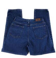 L.L. Bean Relaxed Fit Straight Leg 100% Cotton Blue Jeans Men's 32x30
