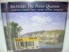 Brahms THE PIANO QUARTETS, Marc-Andre Hamelin, Leopold Trio, 2CDs, Hyperion NEW