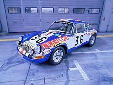 PORSCHE 911 S Le Mans 1971 #36 Waldegard Olin Ski Sage Minichamps Resin 1:18