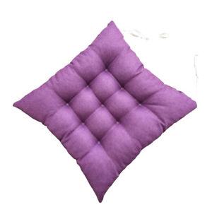 Square Cushion Seat Pad Office Bar Chair Cushions Sofa Chair Buttocks Cushion