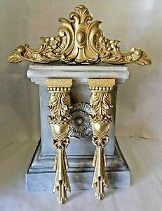Pediment & Columns Moulding set Silicone Rubber Moulds
