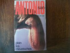 Plein les moustaches    San Antonio  N° 123