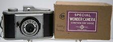 Rare Boxed - Special Wonder Camera - Made In Japan - Trick Snake Spring Camera
