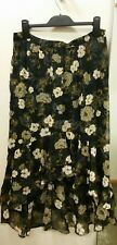 NEW Piper Embossed Jacquard Ruffle High Low Skirt, size 12