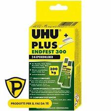 Uhu Colla bicomponente  Plus endfest 163 gr tenuta 300kg/cmq COLLA UNIVERS