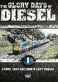 THE GLORY DAYS OF DIESEL - V1 SOUTH EAST ENGLAND & EAST ANGLIA DVD -FREE POST UK