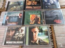 Lot of 8 James Horner OST CDs Windtalkers Braveheart Legends Fall Beautiful Mind