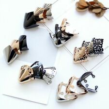 3 Pairs Metal Shoe Toe Head Lady High Heel Shoes Pointed Cap Cover Protector Diy