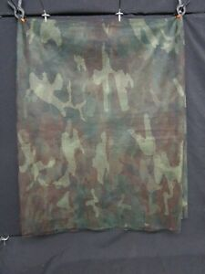 Huge U.S. Military Woodland Camouflage Sniper Netting Hunting/Outdoor No Reserve