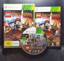 LEGO The Lord Of The Rings (Microsoft Xbox 360, 2012) Xbox 360 Game - FREE POST