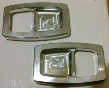 87-93 FORD MUSTANG GT LX BILLET DOOR HANDLE BEZELS 88 89 90 91 92 93 COBRA