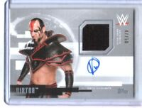 WWE Viktor 2017 Topps Undisputed Silver Autograph Relic Card SN 47 of 50