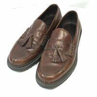 Ralph Lauren Polo Brown Leather Kiltie Tassel Loafers Men's Size 10 M