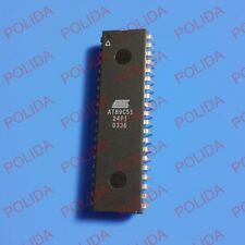 10PCS IC ATMEL DIP-40 AT89C51-24PI