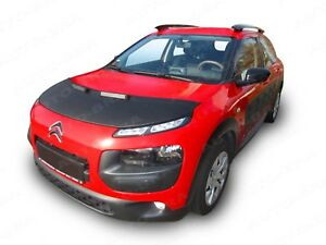 CAR HOOD BONNET BRA for Citroen C4 Cactus 2014-2018 FRONT END NOSE MASK STYLING