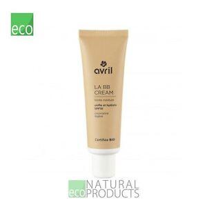 Avril Liquid LA BB Cream Organic EcoCert Medium 30ml