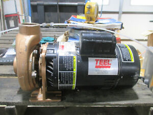 Teel electrically driven centrifugal pump 2P092 230V motor
