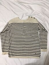 LOGG H&M Striped Sweater Small