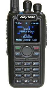 AnyTone AT-D878UV DMR Ham Radio with Charger