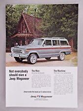 Jeep Wagoneer PRINT AD - 1976