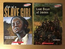 SCHOLASTIC READ 180® - Life of a Slave Girl & Lost Boys of Sudan - 2 for 1