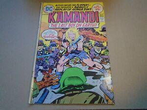 KAMANDI #27 Jack Kirby DC Comics 1975 VG