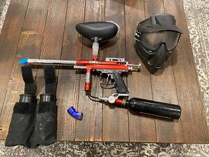 Spyder Shutter Paintball Gun Mask And Extras
