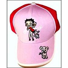 + cappellino regolabile con visiera  betty boop disegno a rilievo cappello