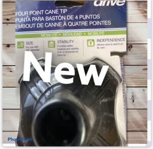 Drive Medical Quad Support Cane Tip Mobility Stable Cane Support (NEW)