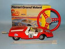 FERRARI GRAND VOLANT RACE CAR ORIGINAL BOX JOUSTRA FRANCE