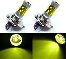 LED 50W 9003 HB2 H4 Yellow 3000K Two Bulbs Head Light Replace Motorcycle