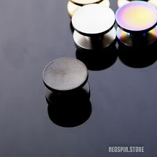 BLACK STAINLESS STEEL r188 Button Set Neo Spin Lite - for Hand Spinner EDC