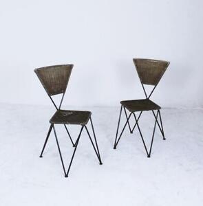 Pair of Karl Fostel Senior's Erben Chairs from Sonett-Serie, Austria, 1950s