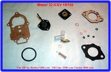 Weber 32 ICEV 18/150, carburatore REP. KIT, FIAT 128, FIORINO