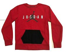 Michael Jordan�Air Jordan�Jump Flightred/black Marsupial sweatshirt shirt� L