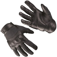 Mil-Tec Tactical Gloves Leather Mens Military Shooting Airsoft Gear Black