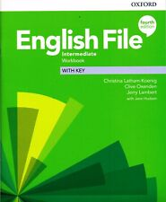 Oxford ENGLISH FILE Intermediate WORKBOOK with key 4TH EDITION @New@